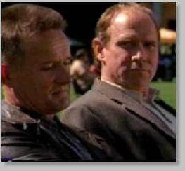 Will Patton and Norbert Weisser in The Agency